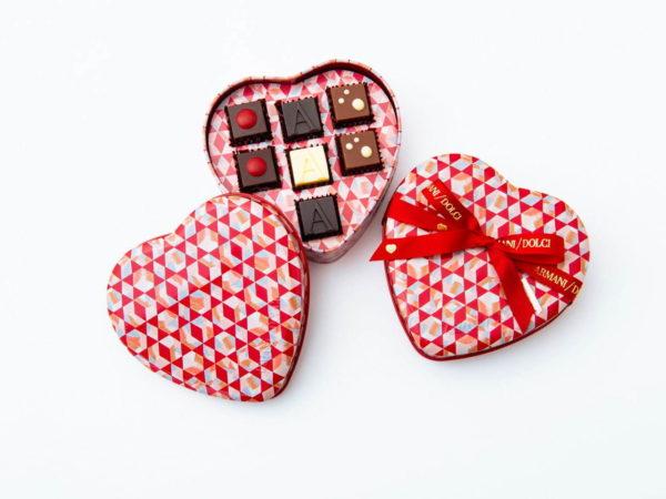 アルマーニ / ドルチから、バレンタイン限定「サン・ヴァレンティーノ 2021」と「バレンタイン限定プラリネ BOX」