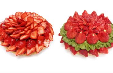 カフェコムサから、福岡県産いちご「あまおう」を使用した限定ケーキ