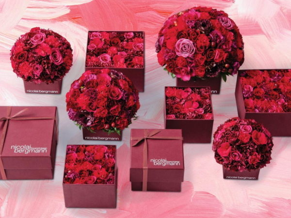 ニコライ バーグマンから、バレンタイン&ホワイトデー限定のフラワーボックス