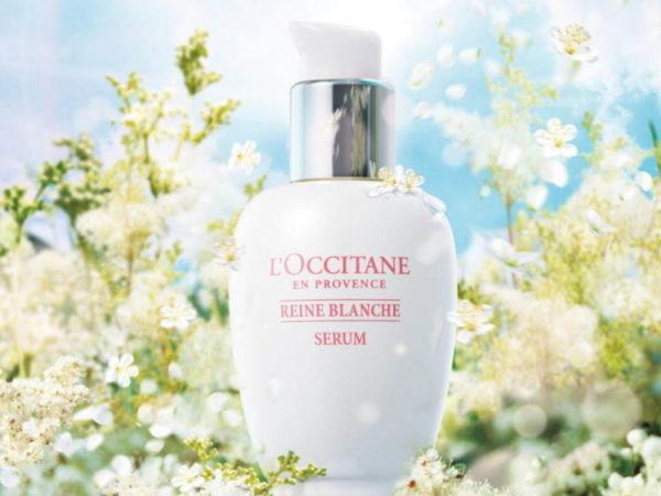 ロクシタンから、「レーヌブランシュ」の薬用美白美容液、ふきとり化粧水、薬用美白クリームがリニューアル