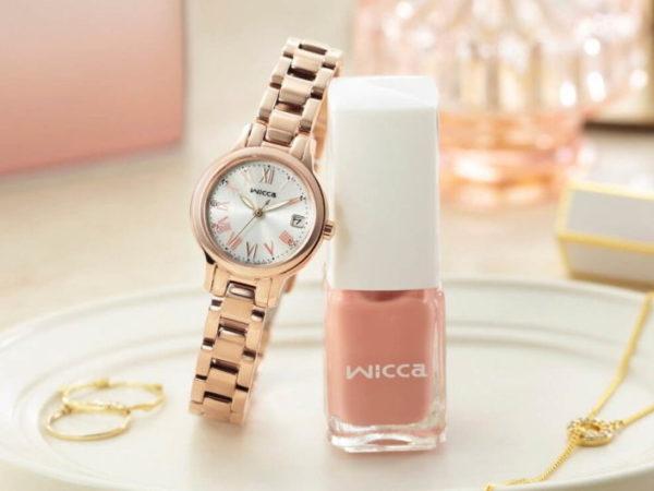 シチズンのウィッカから、「ネイル」をモチーフにデザインした限定腕時計