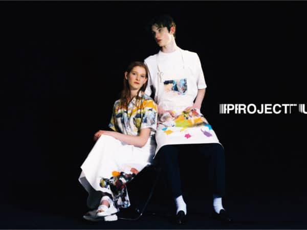 """マウジーが新たに仕掛ける「アート×ファッション」プロジェクト""""PROJECT U(プロジェクト ユー)""""から、第二弾"""