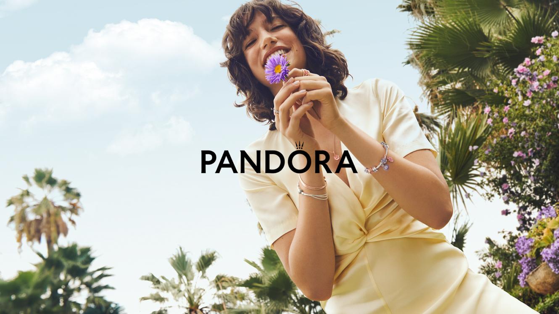 パンドラから、花咲く季節にピッタリ「Pandora Gardenコレクション」