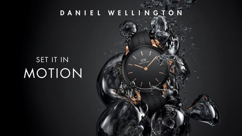 ダニエル・ウェリントンから、初の防水腕時計「アイコニック モーション」