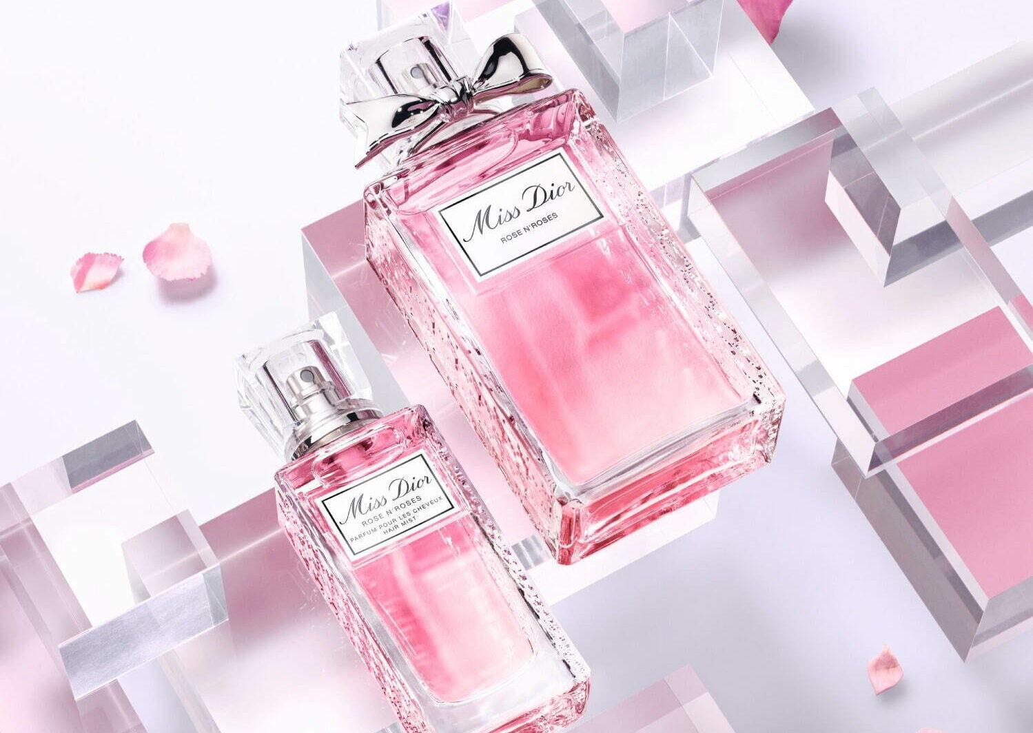 ディオールから、人気香水「ミス ディオール ローズ&ローズ」のヘアミスト
