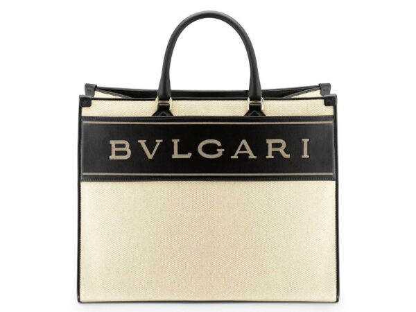 ブルガリから、新作ロゴトートバッグ「ブルガリ ロゴ」バッグ