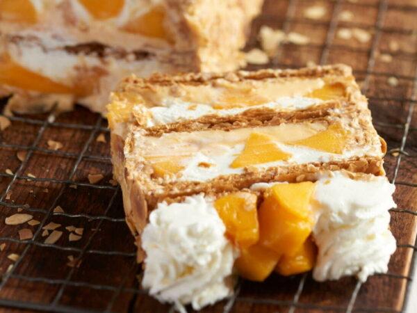 キハチから、完熟マンゴーを使ったサクサク食感のパイ「KIHACHIの宮崎マンゴーパイ」