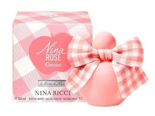 ニナ リッチから、リボン付きアップルボトルの限定香水「ニナ ローズ ガーデン オーデトワレ」