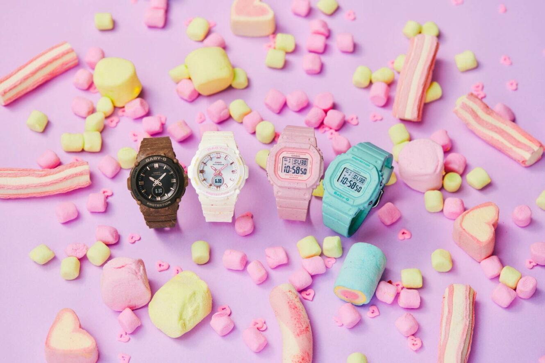 BABY-Gから、アイスクリーム着想の新作腕時計「アイスクリームカラーズ」