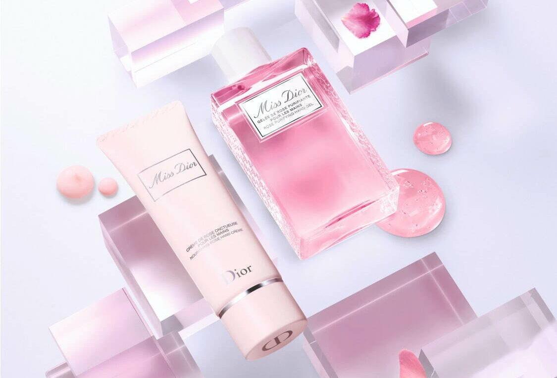 ディオールから、人気フレグランス「ミス ディオール」の香りつき限定ハンドジェル