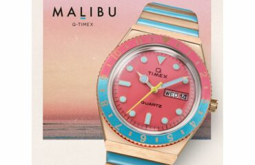タイメックスから、魅惑的なマリブビーチにインスパイアされた『MALIBU』