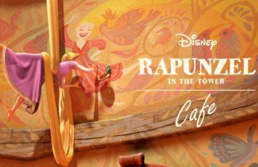 """『塔の上のラプンツェル』の""""塔の中""""をテーマにしたスペシャルカフェ『「塔の上のラプンツェル」OH MY CAFE』"""