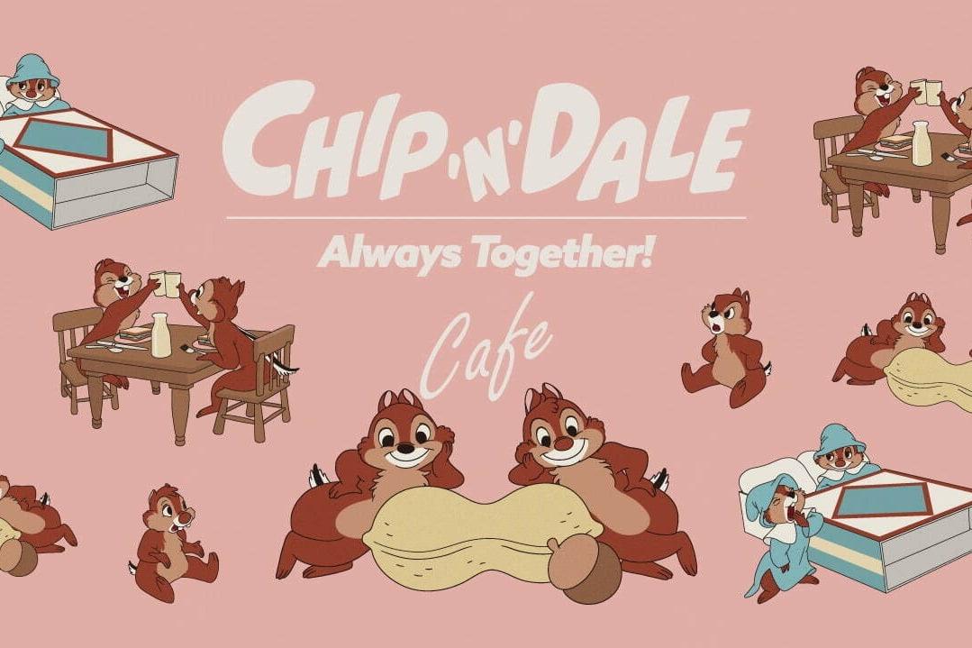 「チップ&デール」をモチーフにしたスペシャルカフェ「チップ&デール」OH MY CAFE