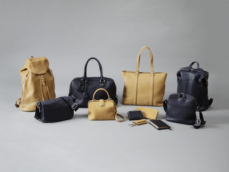 土屋鞄製造所から、冬の夜空をイメージした、使うほど革の風合いが増す&タイムレスなデザインのレザーアイテム