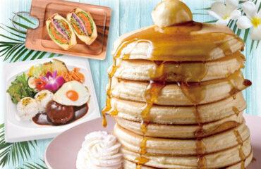 """ふわしゅわ食感の揺れるパンケーキ""""ミルフィーユパンケーキ""""の「ベルヴィル」が横浜に初上陸!"""