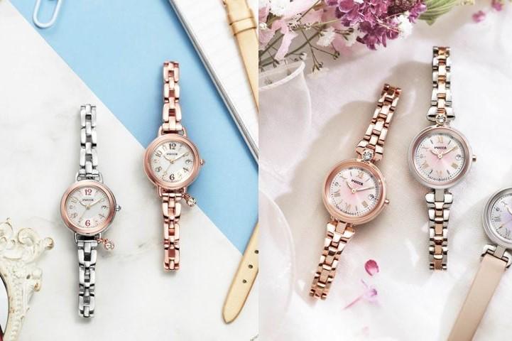 ウィッカから、人気腕時計「ブレスライン」&「ティアラスターコレクション」に新作モデル