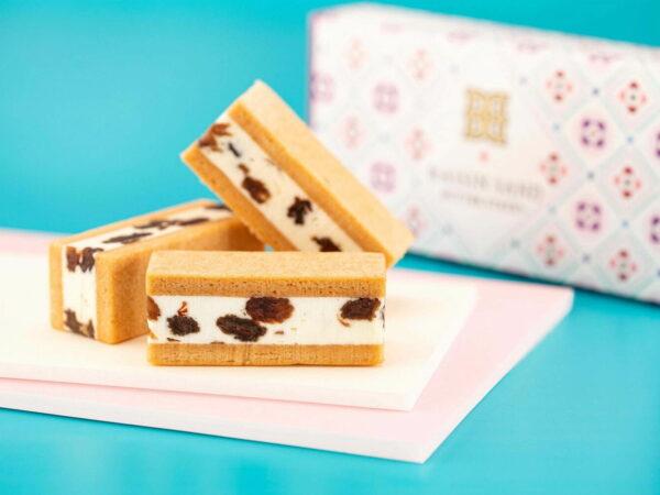 バターステイツから、バタークリームの濃厚なコクが一斉に溶け出す新作「バターステイツ レーズンサンド」
