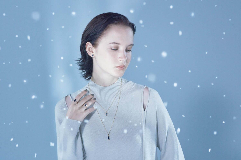 アガットから、2021年冬コレクション幻想的な冬の森を天然石でイメージしたクリスマスジュエリー