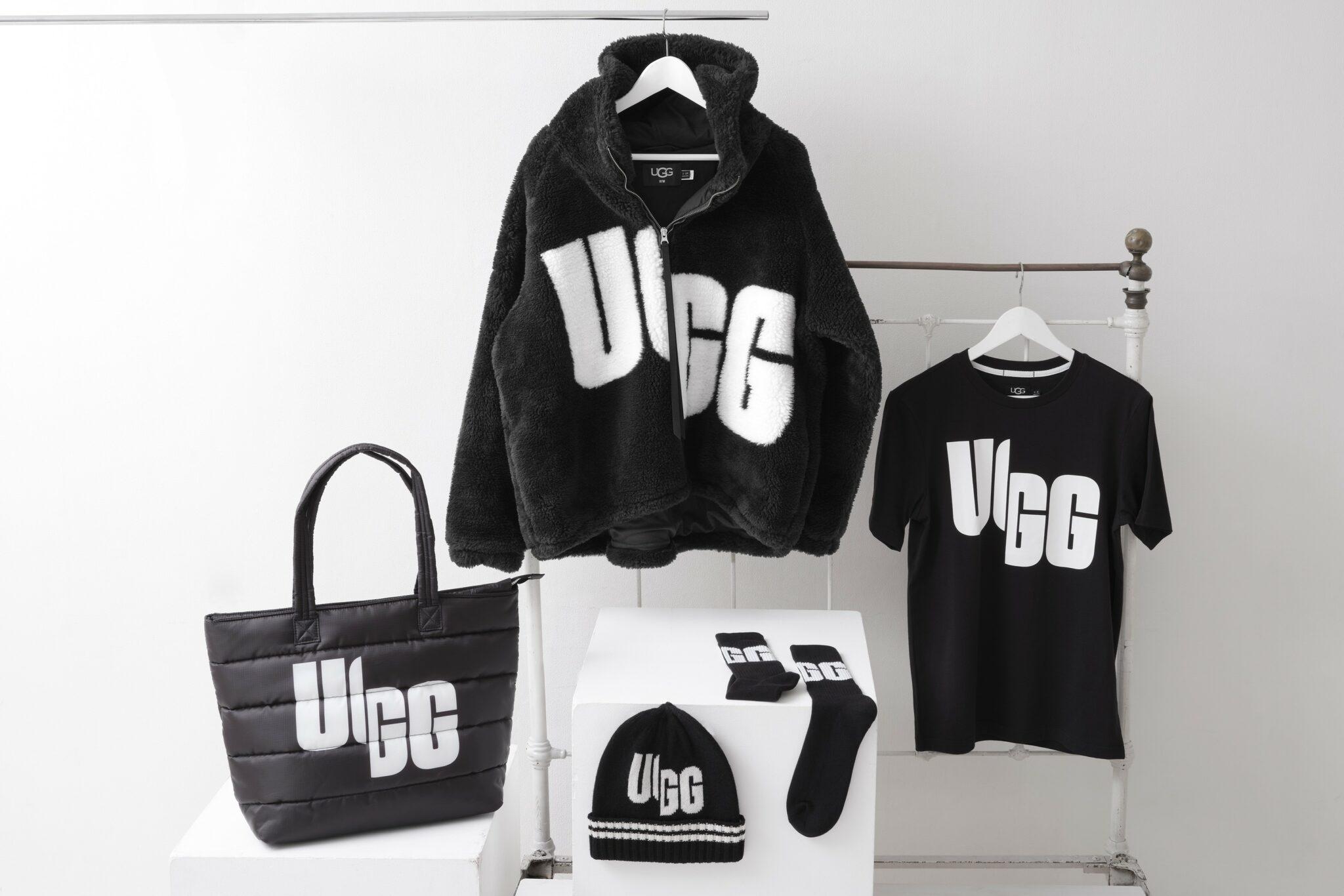 UGG®から、ブランドロゴを大胆に切り崩したChopdコレクション