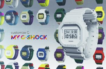 "G-SHOCKから、約190万通りの組み合わせから自分好みの""G-SHOCK""が作れる『MY G-SHOCK』"