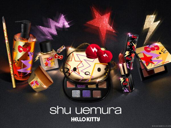 シュウ ウエムラが、「HELLO KITTY」とコラボ!2021ホリデーコレクション『shu uemura × HELLO KITTY』